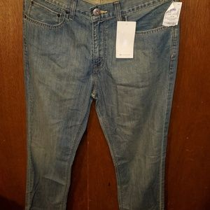 NWT! Men's Denizen Straight Cut Jeans 34/34